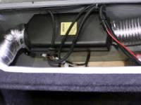 Элементы системы воздушного отопления под левым сиденьем (Фото 13)